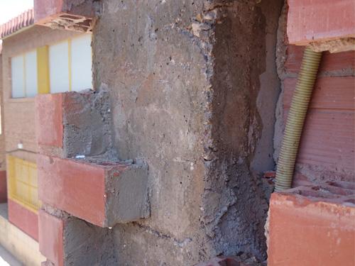Reparación del Colegio Pérez de Hita de Lorca - Tracón