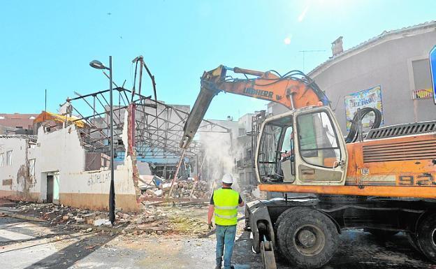 derribo construcción albañileria